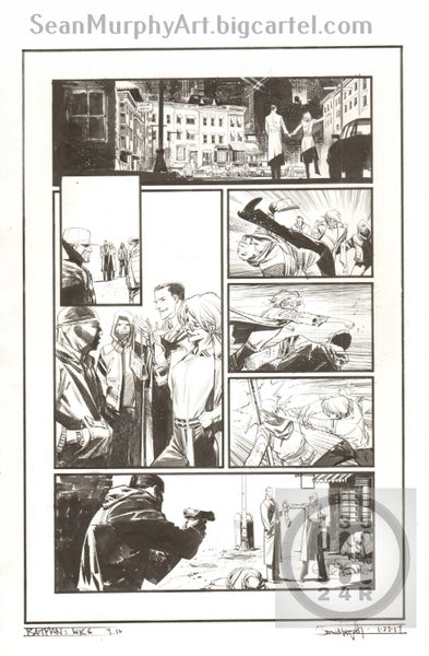 Image of Batman: White Knight #3, page 16