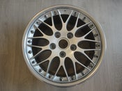 "Image of 2x Genuine Porsche Boxster BBS Classic II 2-piece Split Rim 18"" 5x130 Rear Alloy Wheels"