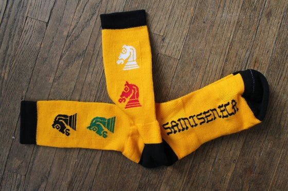 Image of Saintseneca Socks!