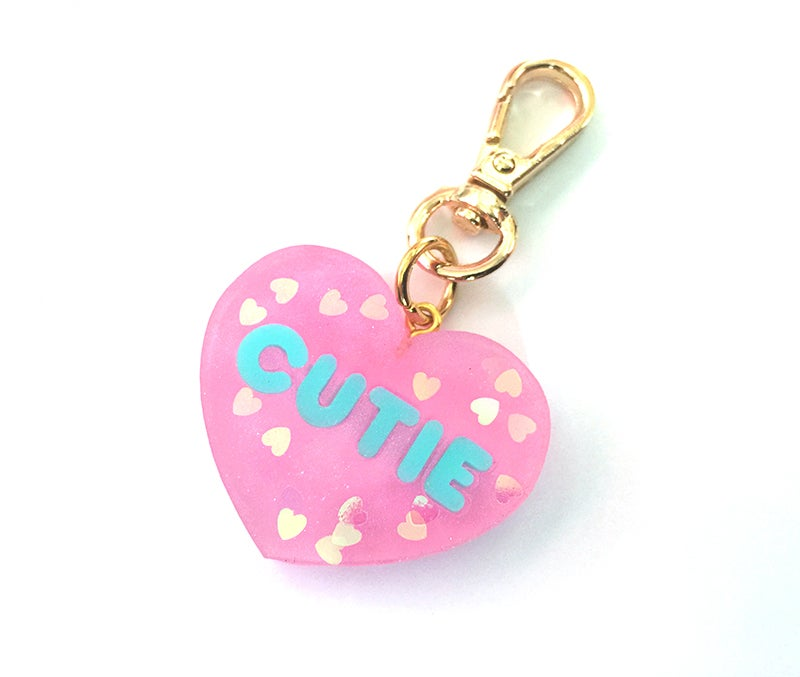Image of Cutie Heart Mini Bag Charm