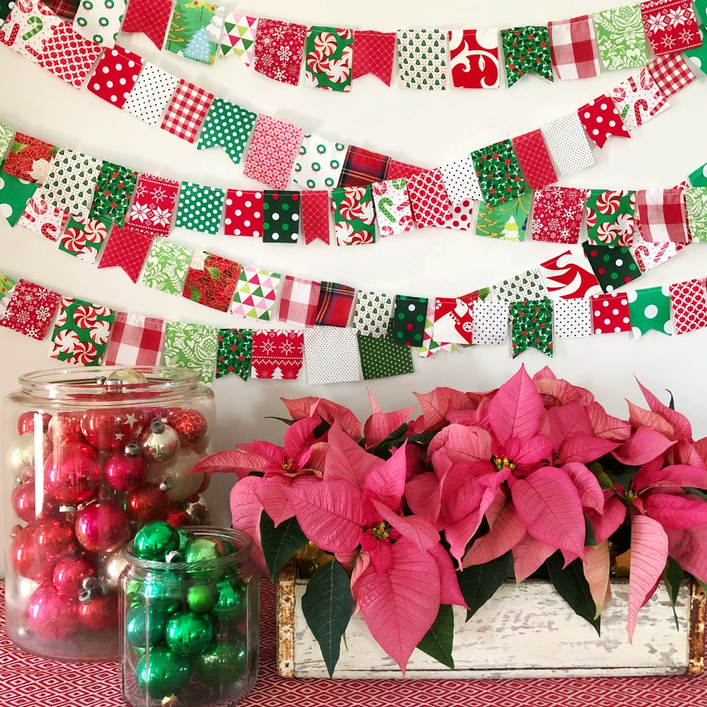 Image of Merry Christmas Mini Bunting