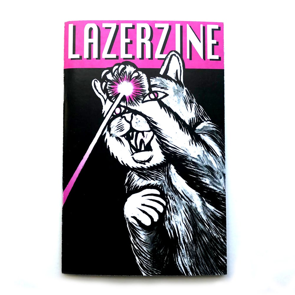 "Image of Lazer Zine - Issue #1 - ""The Media"""