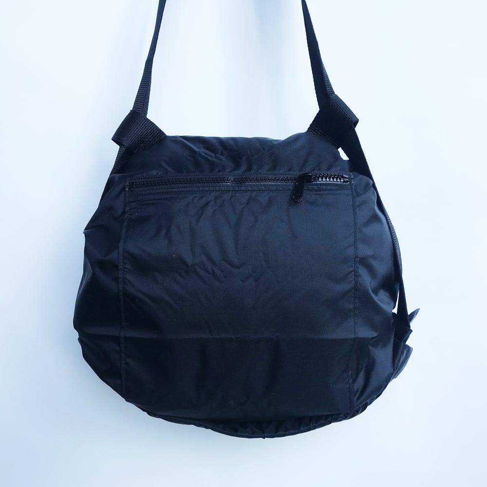 Image of Nylon noir - zip