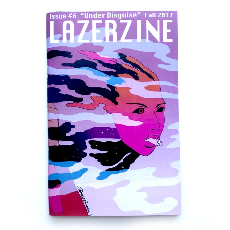 "Image of Lazer Zine - Issue #6 - ""Under Disguise"""