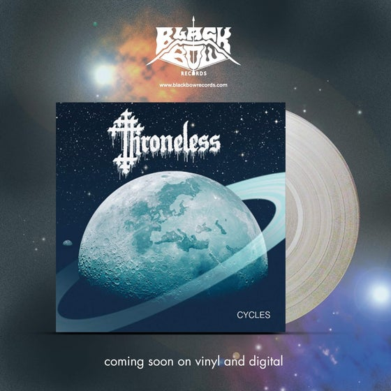 "Image of THRONELESS - CYCLES 12"" PRE ORDER"