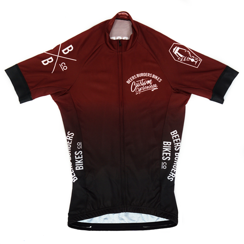 Image of Red Fade Jersey
