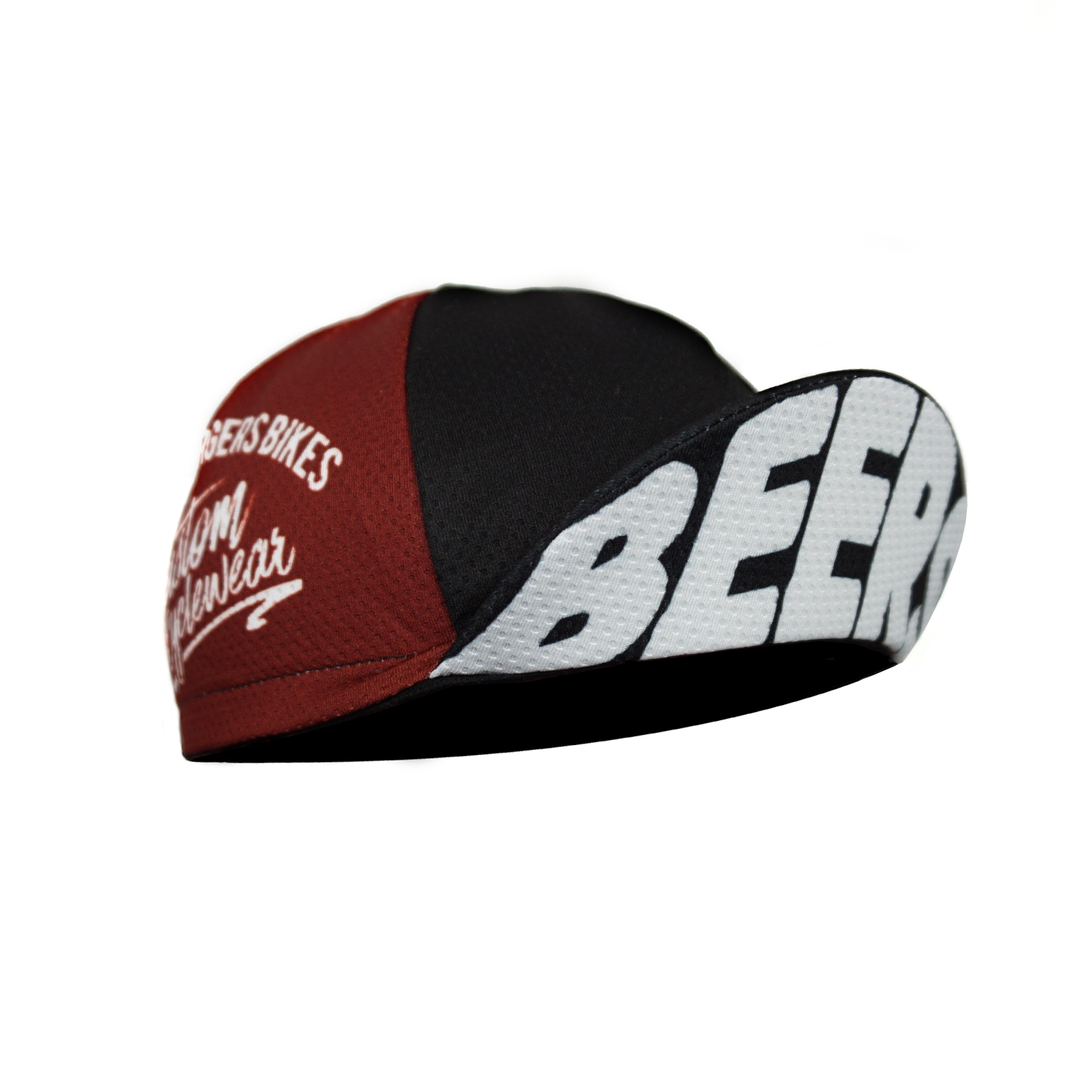 Beers Burgers Bikes — Red Fade Beers Cap dc8dd4a1918b