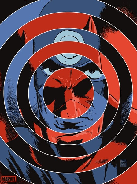 Image of DareDevil/Bullseye Mondo Print APs