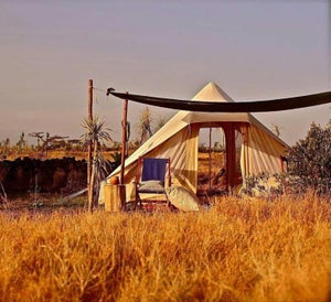 Image of Bedouin Tuareg Nomad Tent