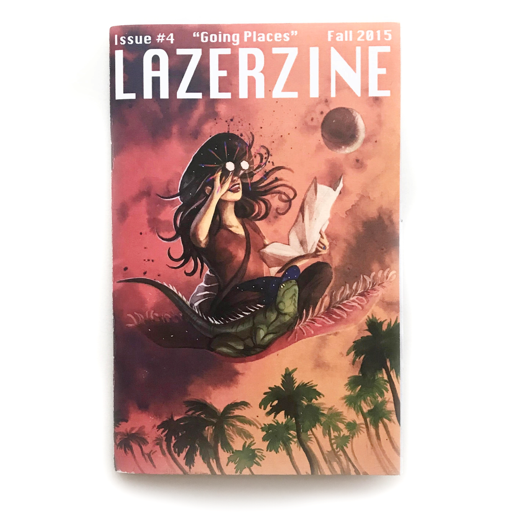 "Image of Lazer Zine - Issue #4 - ""Going Places"""