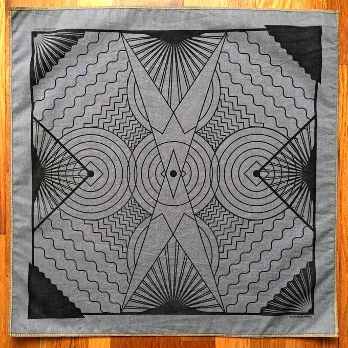 Image of Hand-Printed Handkerchief