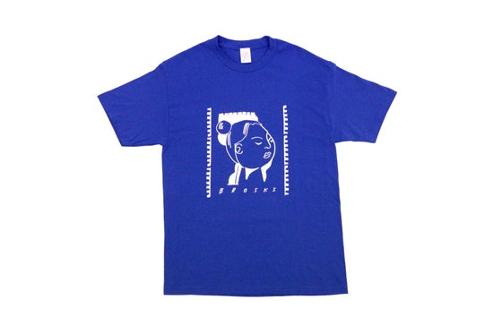 Image of Broski - MVPEACE T Shirt Blue