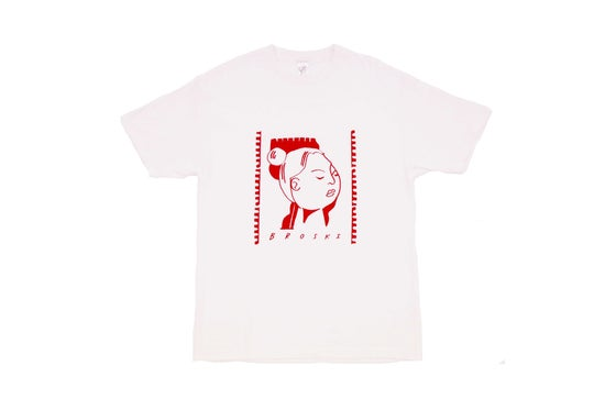 Image of Broski - MVPEACE T Shirt White