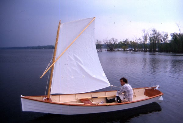 "Image of ""Wizard River Skiff"" Boat Plans"