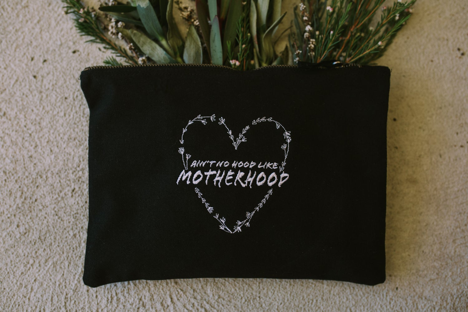 Image of Ain't No Hood Like Motherhood Pouch