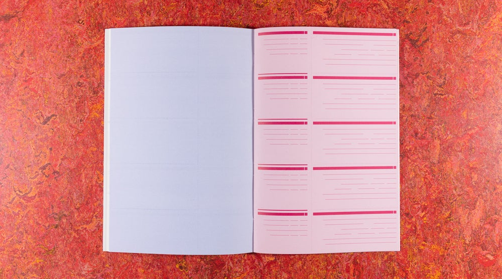 Image of Carnet Relaxé (relaxed notebook) <br/> — Åbäke et Joel Colover,