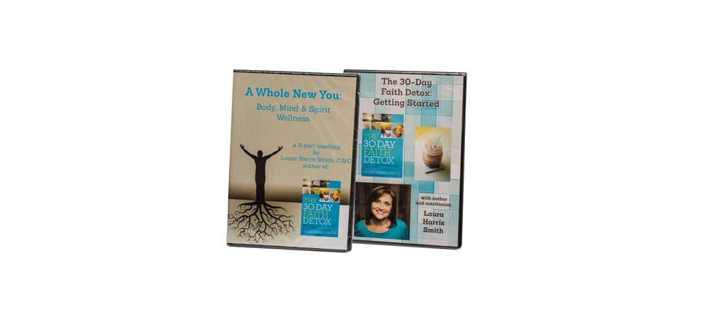 Image of A Whole New You 3-CD Audio Set + The Faith Detox Getting Started DVD