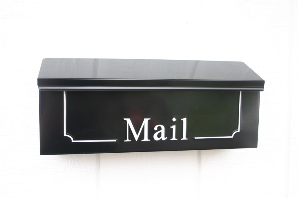 Image of Black Vintage Inspired Mailbox by TheBusBox