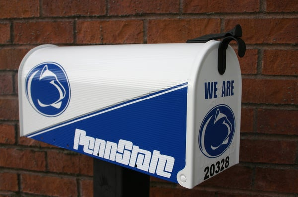 Image of Penn State Nittany Lions Mailbox by TheBusBox -Choose your team. College Football, School NFL