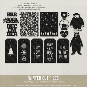 Image of Winter Cut Files (Digital)