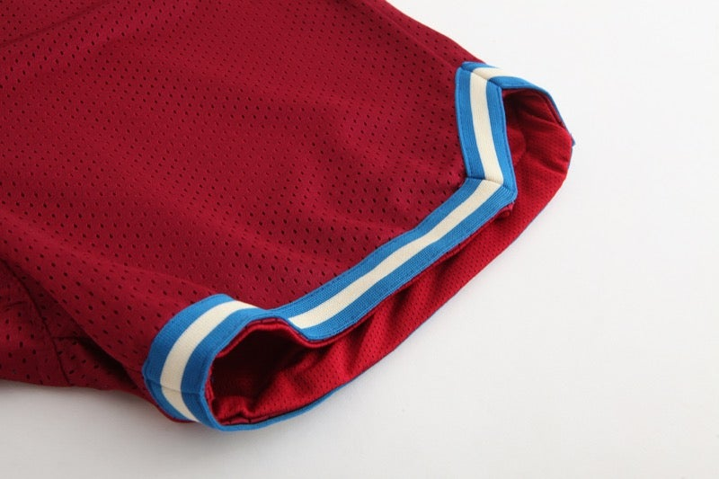 Image of Jordan Basketball Shorts (Maroon)