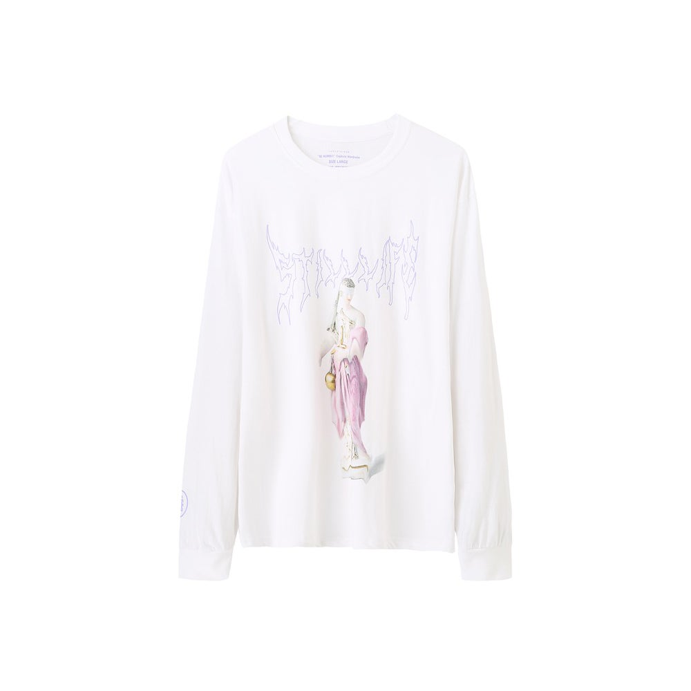 Image of Still Life Statue LS Tee (White)