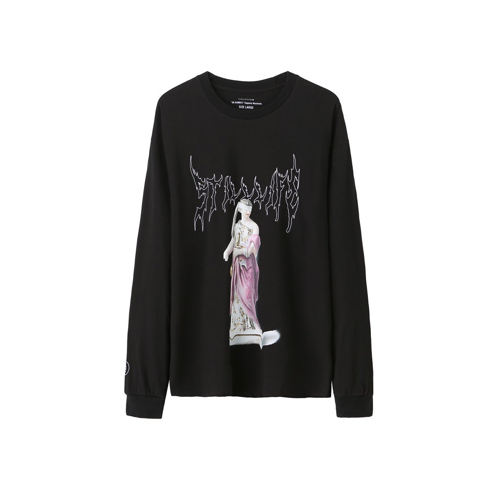 Image of Still Life Statue LS Tee (Black)