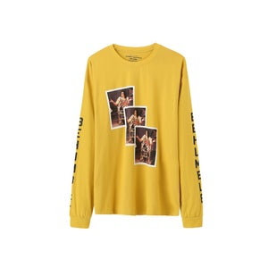 Image of MJ Be Humble LS Tee (Mustard)