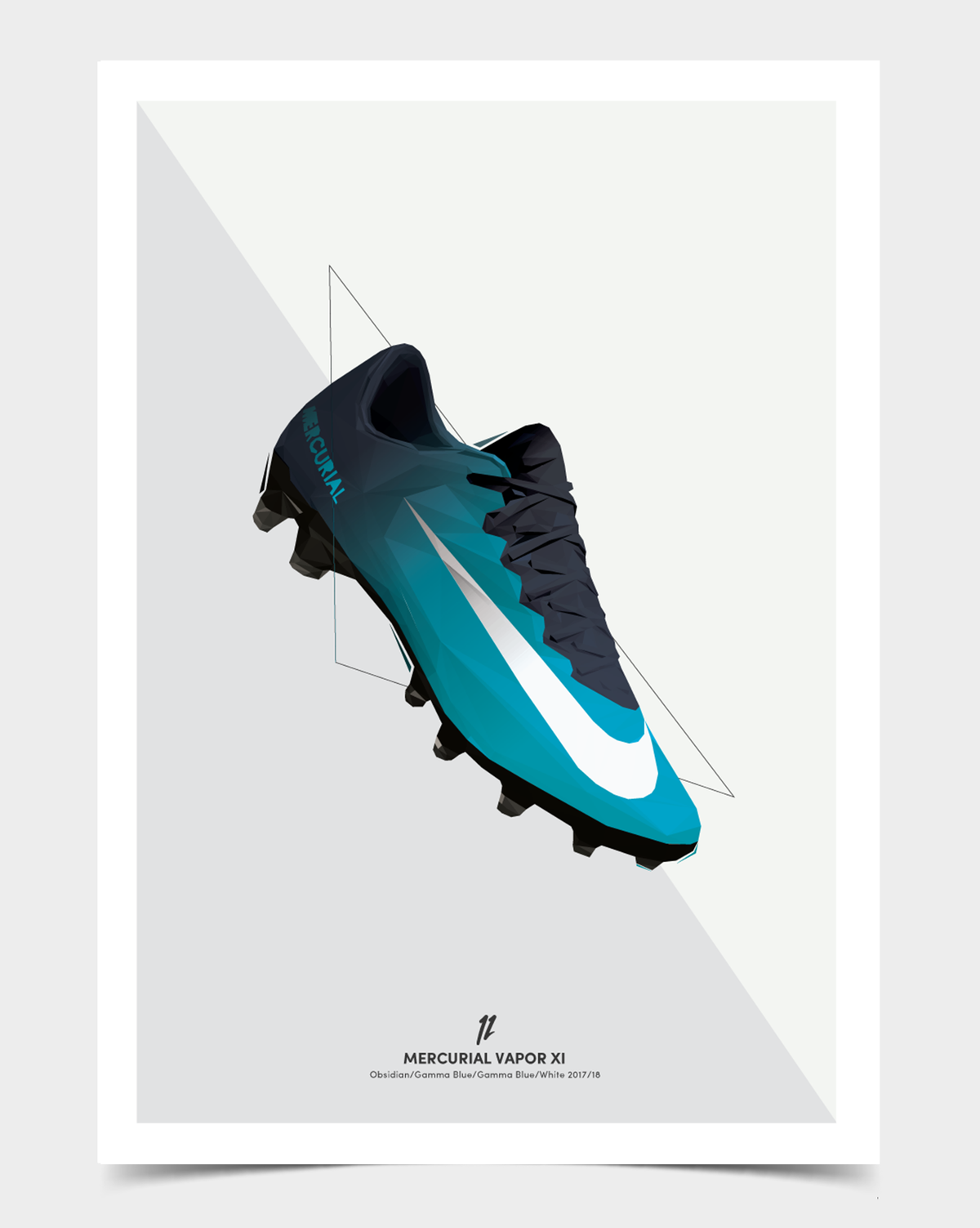 Image of Mercurial Vapor XI (Ice)