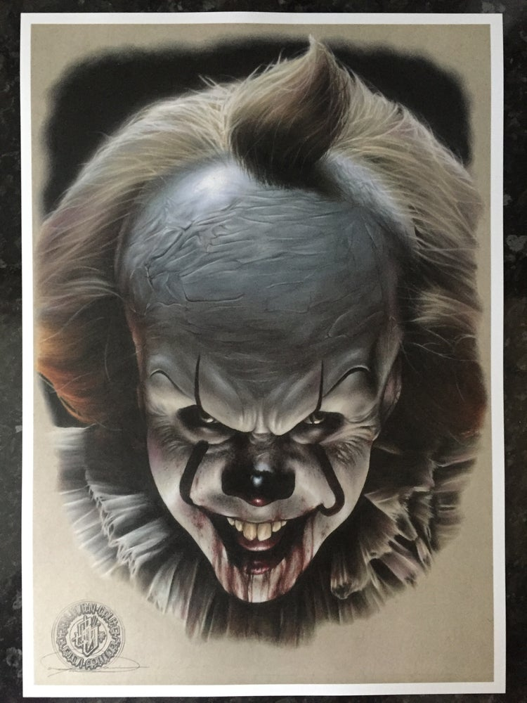 Image of Limited edition pennywise print (A3)