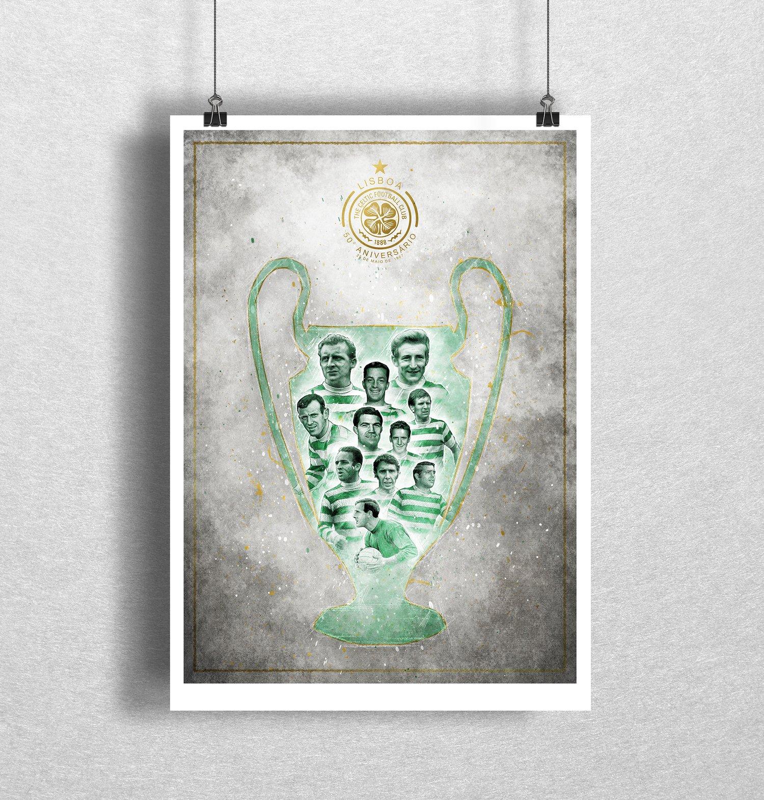 Image of Lisbon Lions Cup Art Print
