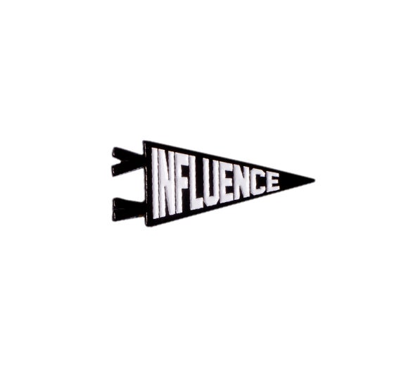 Image of Influence Soft Enamel Pin