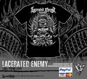 Image of Lacerated Enemy Records - label Tshirt 2017
