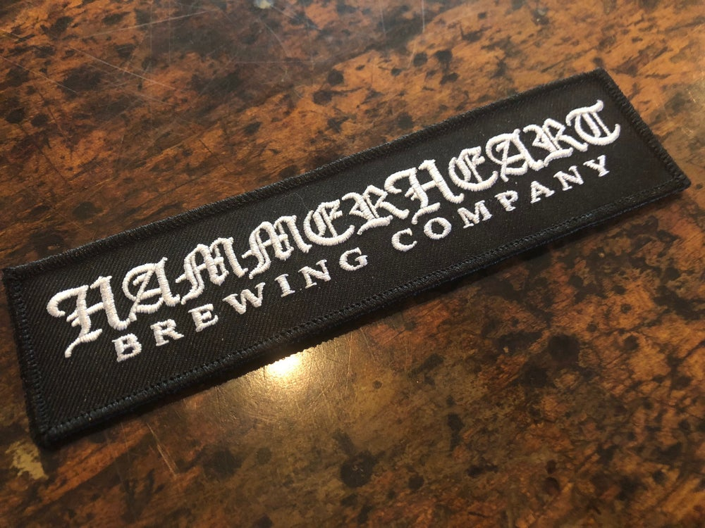 Image of Rectangular Hammerheart Patch
