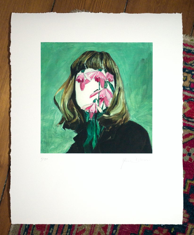 Image of Eyeless Girl limited edition print #3