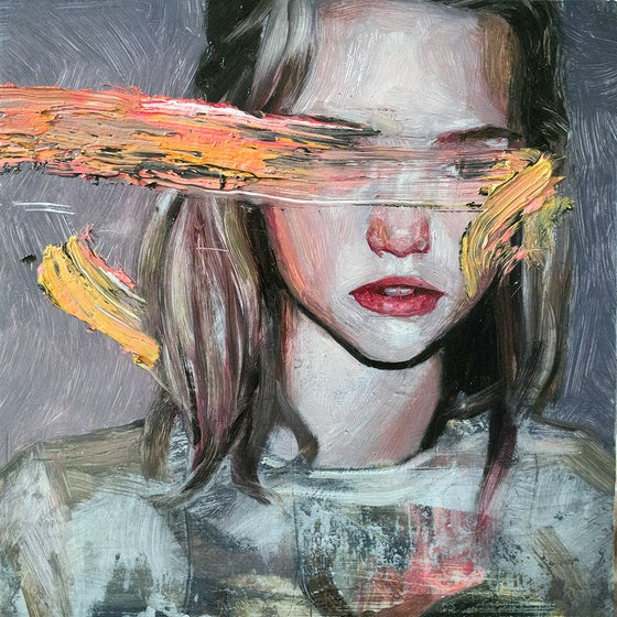 Image of Eyeless Girl limited edition print #4