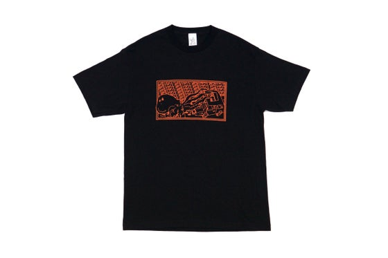 Image of Broski - Kraken Mechanic T Shirt Black