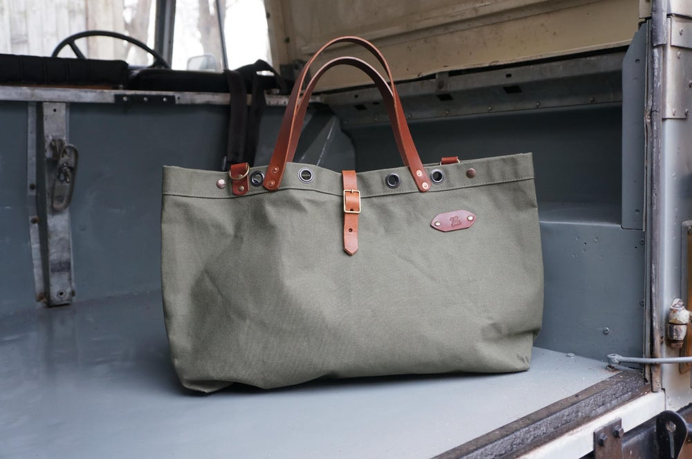 Image of FiftySix Tote Bag - Olive