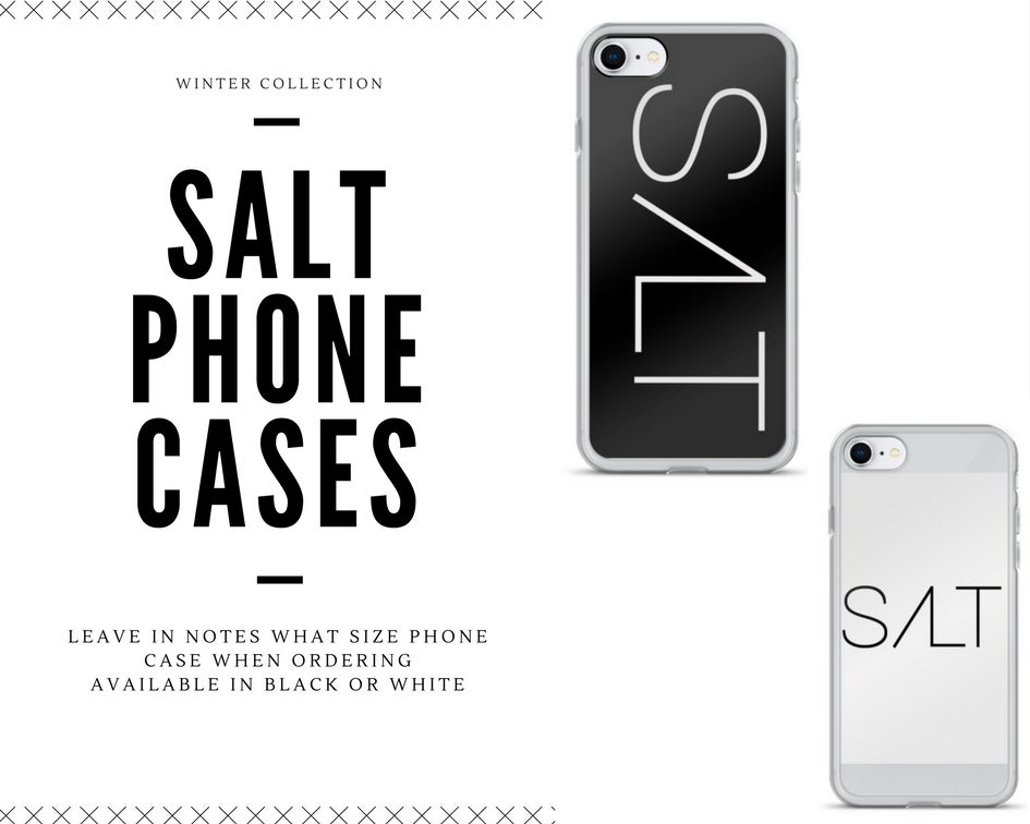 Image of Salt Phone Cases
