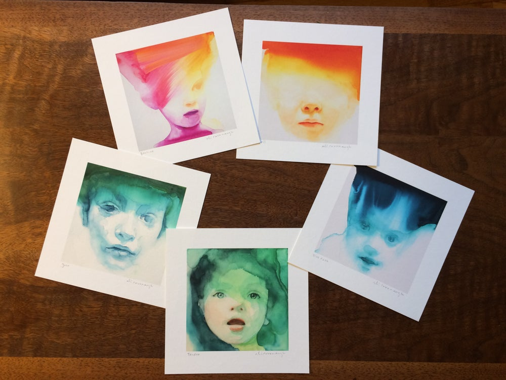 Image of Sampler set of prints #2 signed