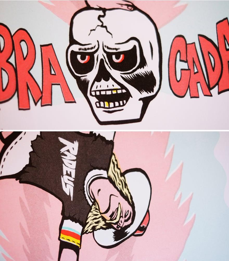 "Image of ""SABRACADABRA"" LIMITED EDITION A3 RISOGRAPH PRINT"