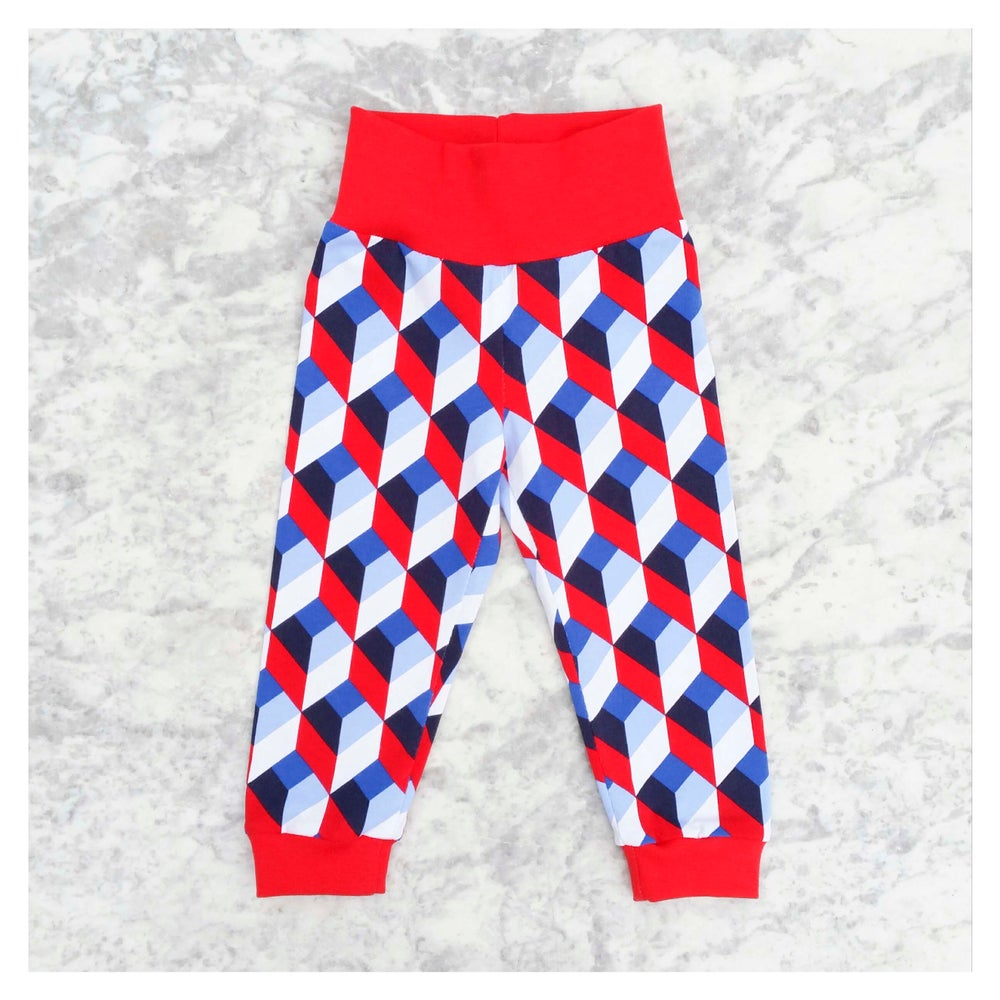 Image of Geometric Pants