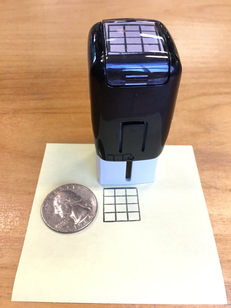 Image of Large Self-Inking Chord Stamp