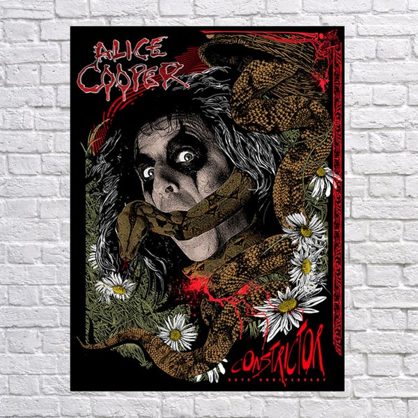Image of Alice Cooper 30th anniversary of Constrictor