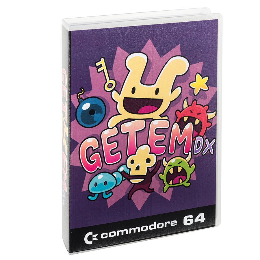 Image of Get 'Em DX (Commodore 64)