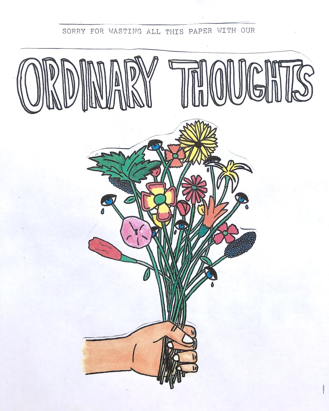 Image of ORDINARY THOUGHTS ZINE - ISSUE 1