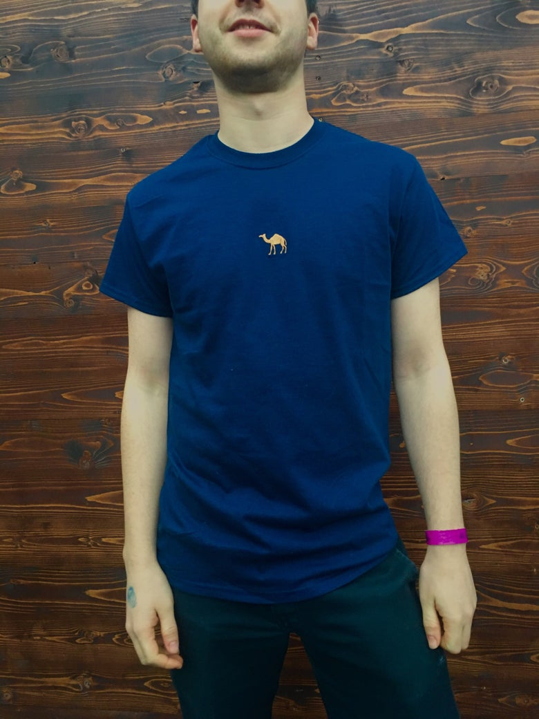 Image of Horsey Tee (Navy)