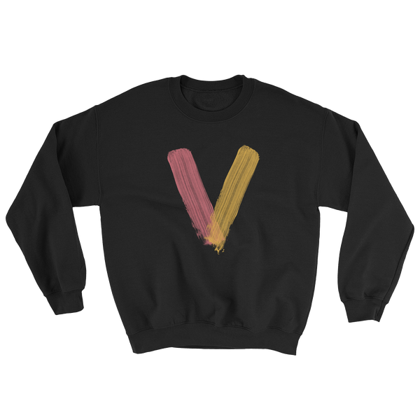 Image of Vibes In The City Logo Black Sweater