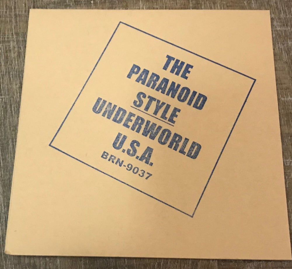 Image of Underworld U.S.A. Limited Edition Bootleg CD
