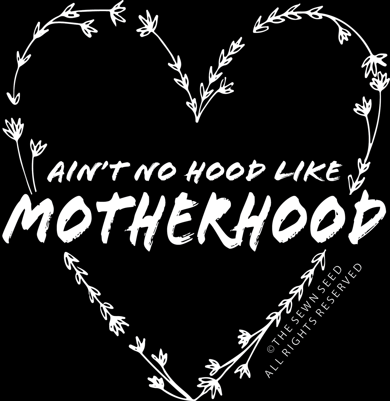 Image of Ain't No Hood Like Motherhood Sticker